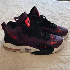 Men's Nike Airmax Speed turf size 10 purple